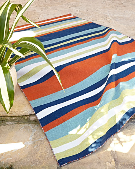 Carlotta Outdoor Rug, 8' Square