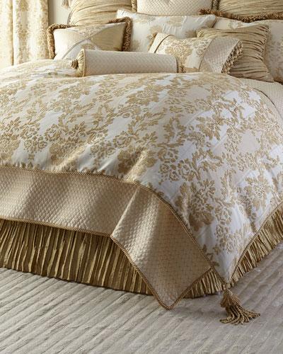 Antoinette King Chenille Comforter