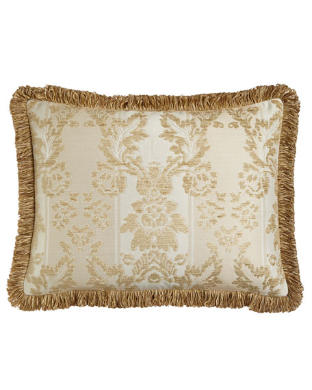 King Chenille Sham with Loop Fringe