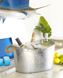 Fleur-de-Lis Party Tub