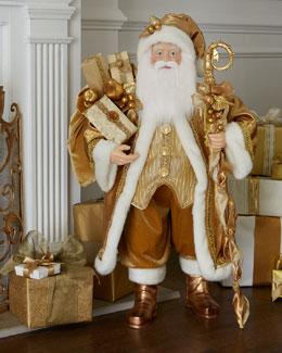 "Golden 38""T Santa"