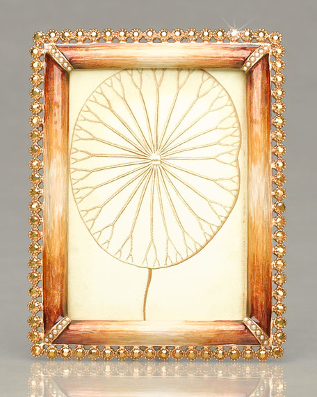 Jay Strongwater Emilia Picture Frame, 3\