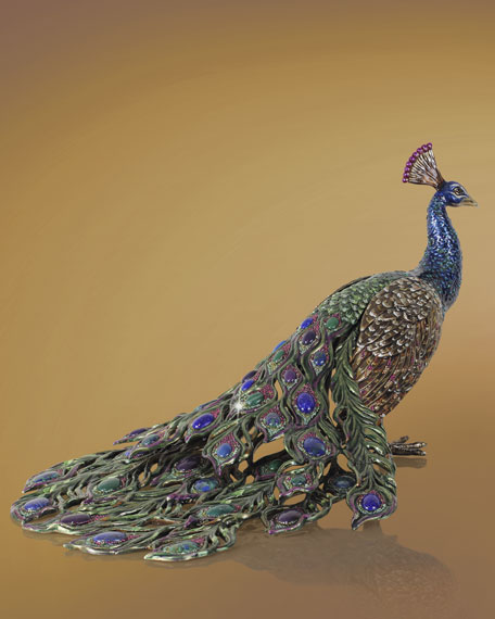 Peacock Figurine