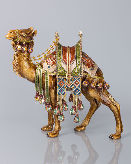 Jay Strongwater Alexander Grand Camel Figurine