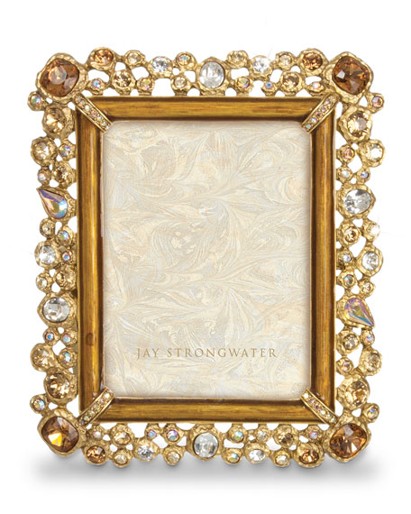 "Claudia Bejeweled 3"" x 4"" Frame"