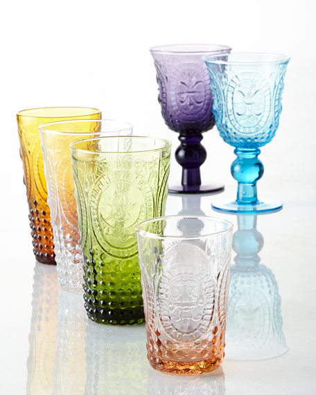 Amethyst Renaissance Juice Glasses, Set of 4