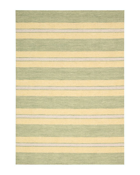 "Oxford Chesapeake Rug, 5'3"" x 7'5"""