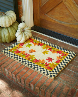 Falling Leaves Entrance Mat