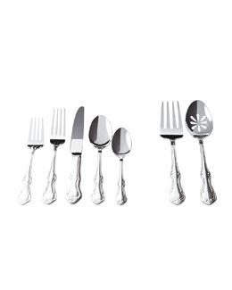 65-Piece Lorelai Silver-Plated Flatware Service
