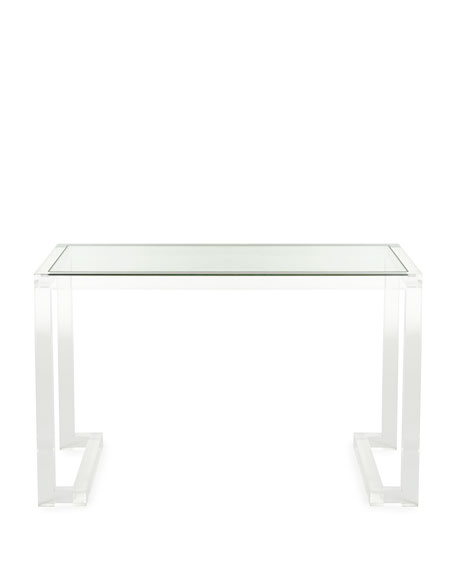 Dana Acrylic Writing Desk