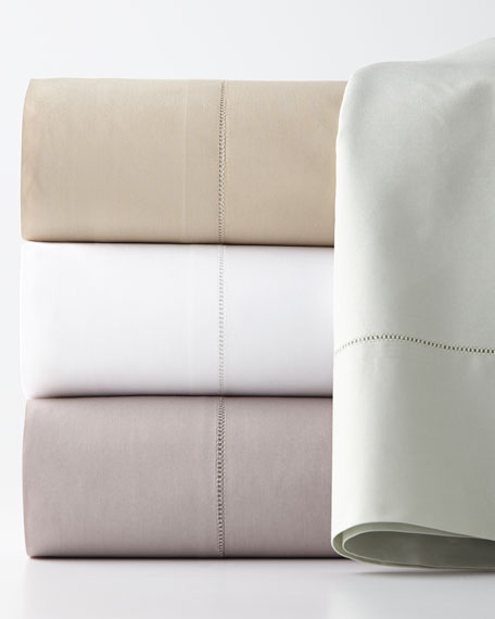 King 406 Thread Count Percale Fitted Sheet