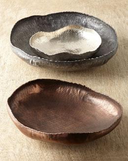 Three Carli Decorative Platters