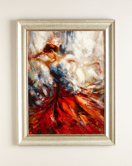 """Dance in Red"" Giclee"