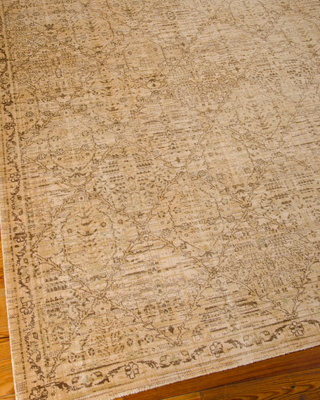 "Moroccan Diamond Rug, 5'3"" x 7'5"""
