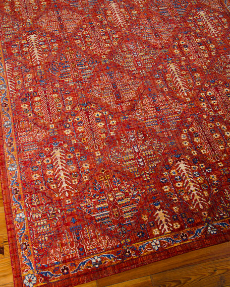 Moroccan Diamond Rug, 5'3