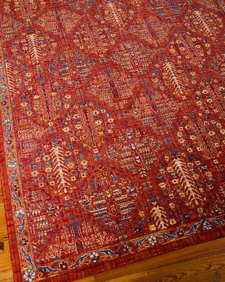 "Moroccan Diamond Rug, 5'3"" x 7'5"""