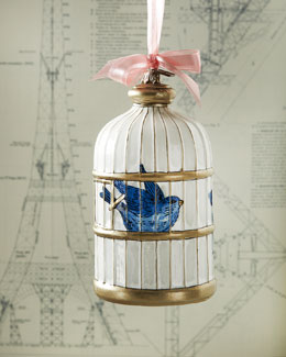 Birdcage Christmas Ornament
