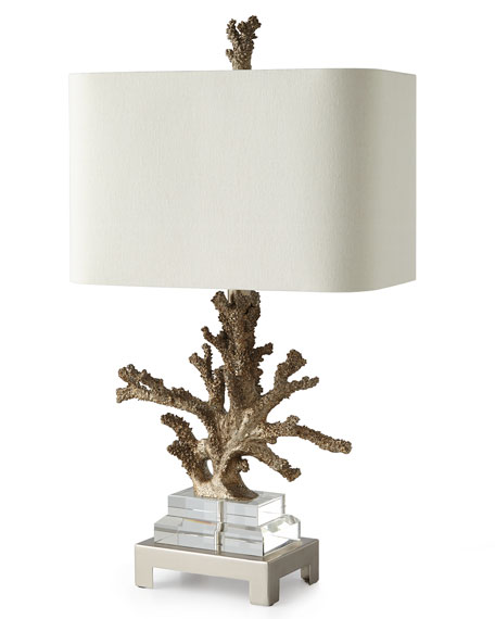 Superior Poseidon Coral Table Lamp