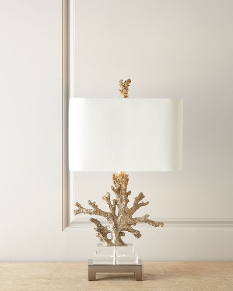 Superbe Poseidon Coral Table Lamp