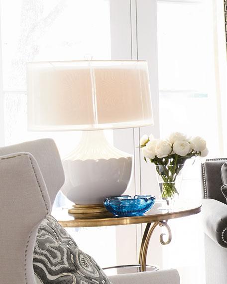 John Richard Collection Carousel Table Lamp