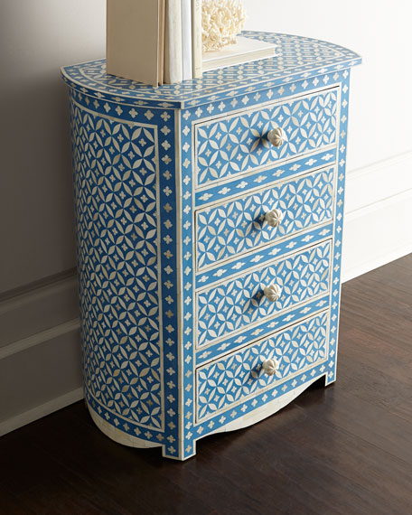 Latessa Inlay Side Table