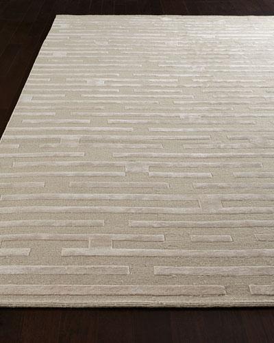 Linear Maze Rug, 8' x 10'