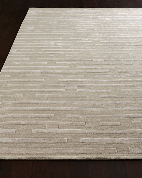 Linear Maze Rug, 10' x 14'