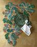 Jewel Masquerade Table Runner