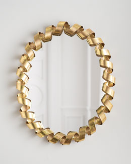 Coiled Ribbon Mirror