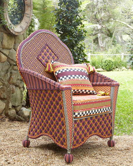 Sunset Outdoor Wing Chair