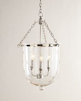 Dannica Etched Three-Light Pendant
