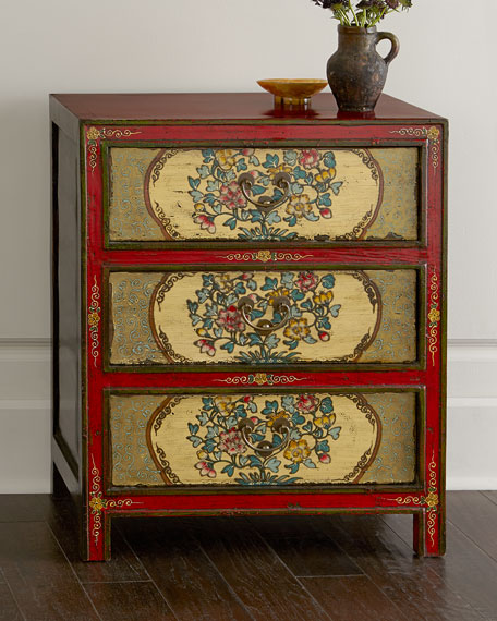 Antique Three-Drawer Chest