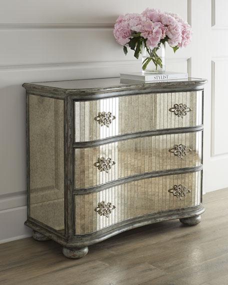 Hooker Furniture Echo Mirrored Chest