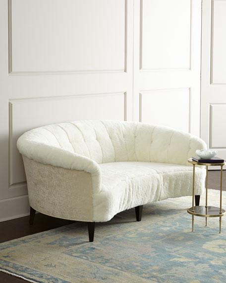 Leather Furniture Hickory North Carolina: Old Hickory Tannery Hollis Sheepskin Sofa