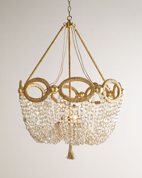 Fiona four light chandelier