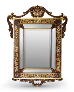 Laurent Arabesque Wall Mirror