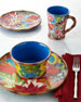 16-Piece Hand-Painted Dinnerware Service