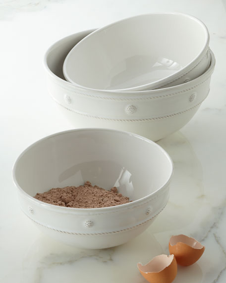 Juliska Berry & Thread Mixing Bowls, 3-Piece Set