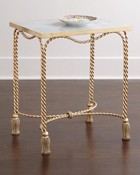 Farah Marble Top Side Table