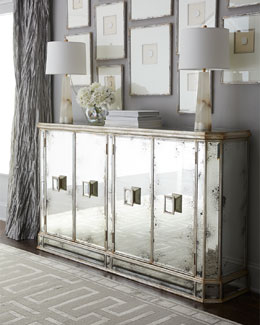 Living Room Mirrored Furniture