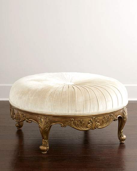Scala Light Round Ottoman