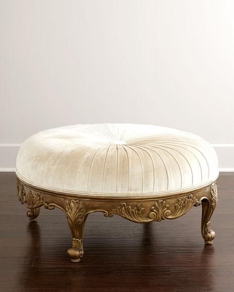 Scala Light Round Ottoman