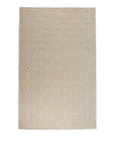 Diamond Filigree Rug, 8' x 10'