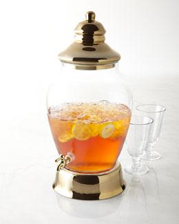 Golden Accent Beverage Dispenser