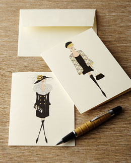 Glamour Lady Notecards