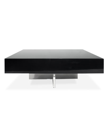 Lacquer Block Coffee Table