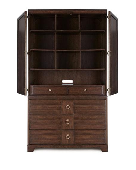Pierce Entertainment Cabinet