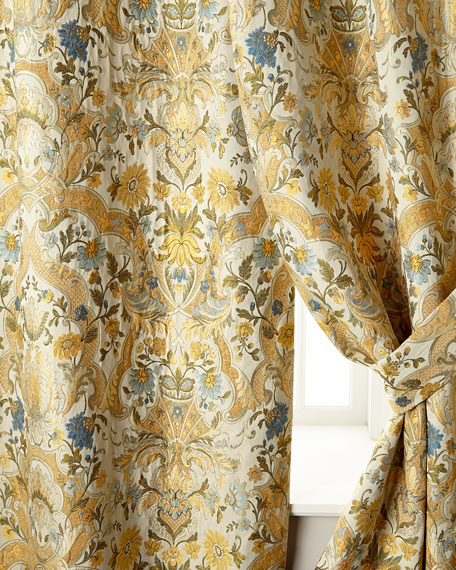 """Two 52""""W x 96""""L Manor Curtains"""