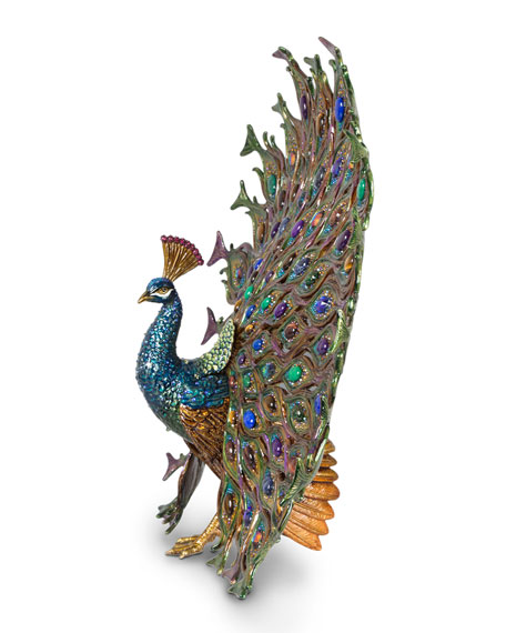 Stanton Fan Tail Peacock Figurine