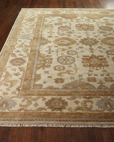 Exquisite Rugs Atlee Oushak Rug, 9' x 12'